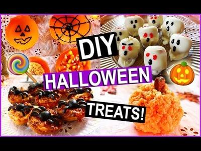 DIY Halloween Treats | STYLOWEEN PINTRY