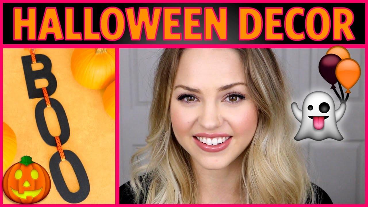 DIY Halloween Tumblr Inspired  Decor with Jess