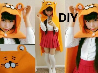 DIY Hamster Hoodie Cloak. Cape Inspired by Umaru-chan | Halloween 2015