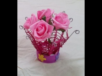 DIY How to Make a Basket from Wire Coat Hanger - Handmade Basket Made of Wire Coat Hanger - tutorial