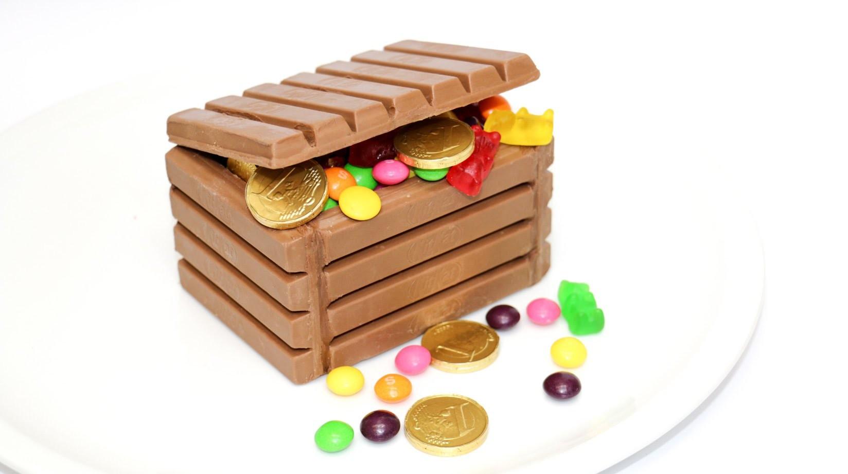 DIY - KIT KAT Chocolate Candy Chest