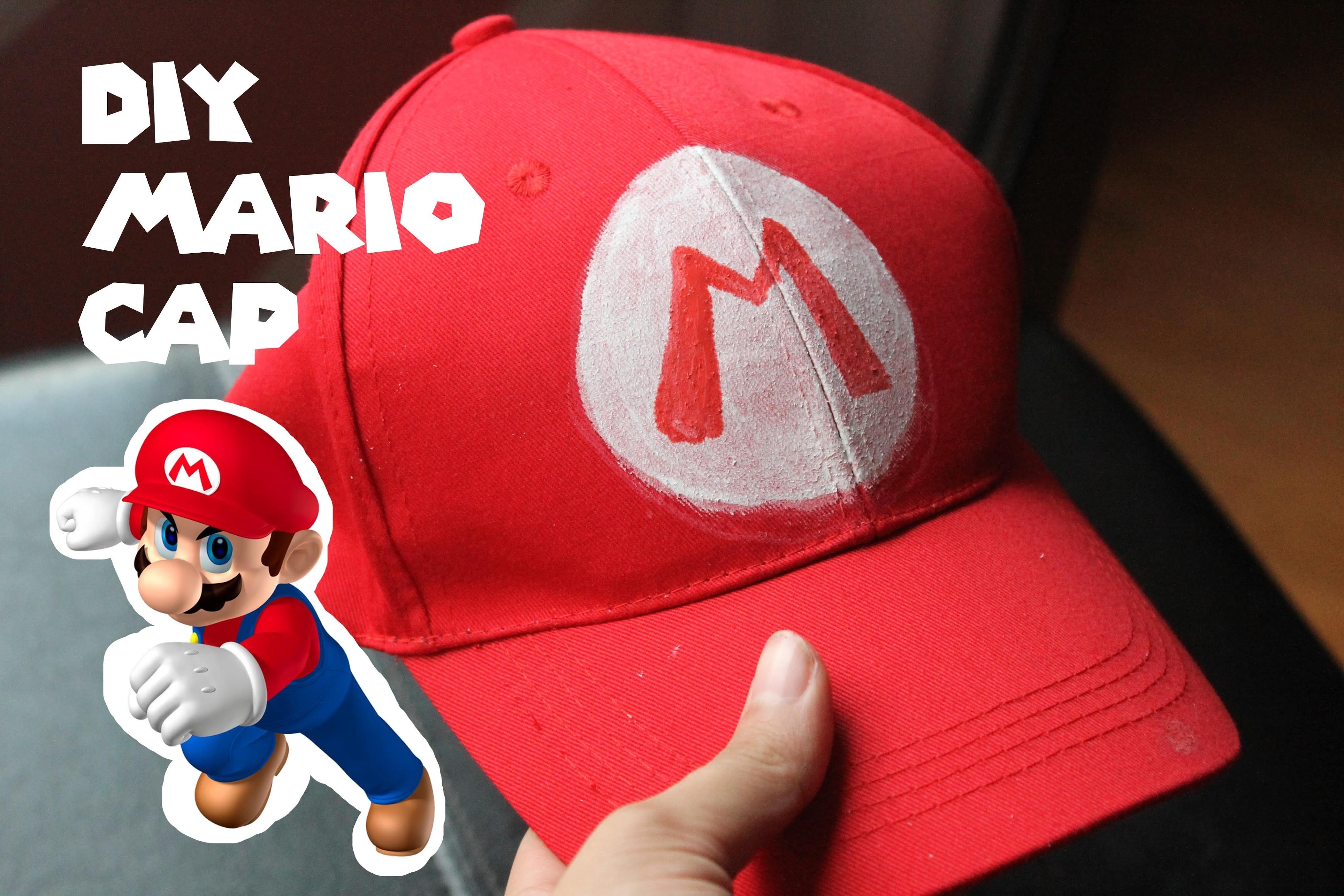 DIY Mario Cap
