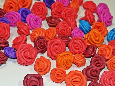 DIY Mini Foam Roses - Very Easy !
