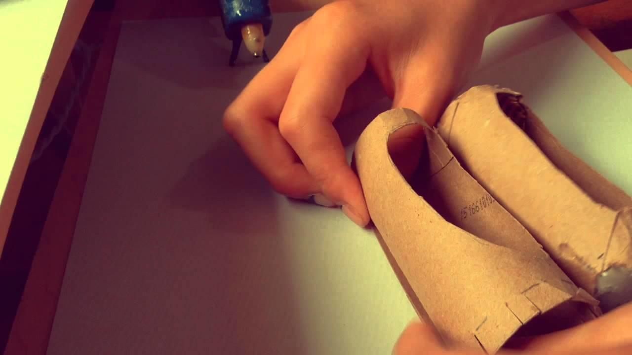 DIY paper mâché pointe shoes|Anna's Crafty Corner