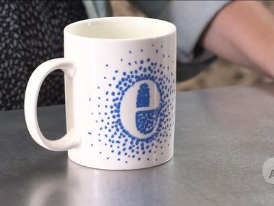 DIY Personalized Mug | Style Me Pretty
