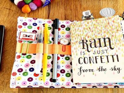 DIY Planner on a Budget: FauxDori on a Budget, Fabric-Dori