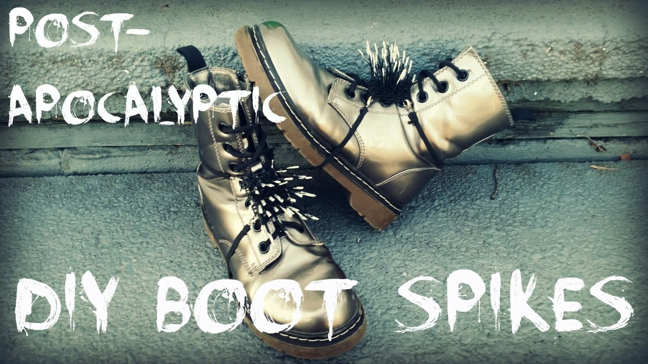 DIY Post Apocalyptic Boot Spikes