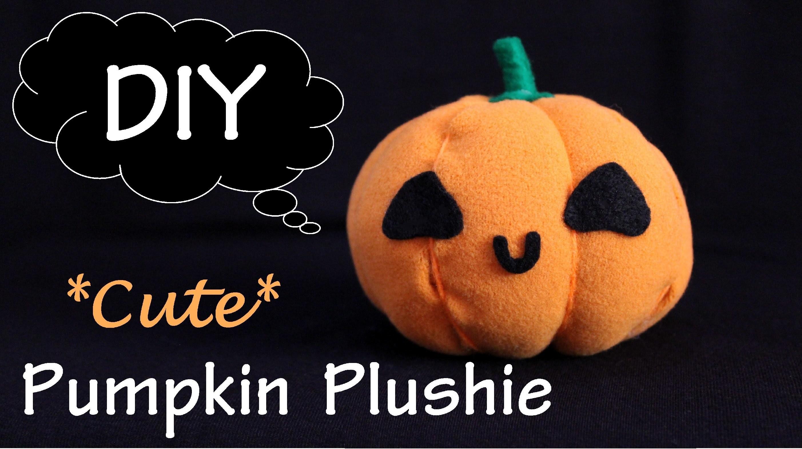 DIY Pumpkin Plushie | Halloween Part 2.2