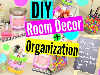 DIY Room Decor + Organization.Storage! Keep Your Room Organized!