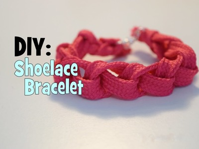 DIY Shoelace Bracelet | How-to gift | Accessories
