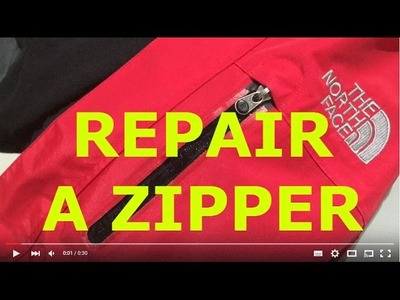 DIY Zipper repair