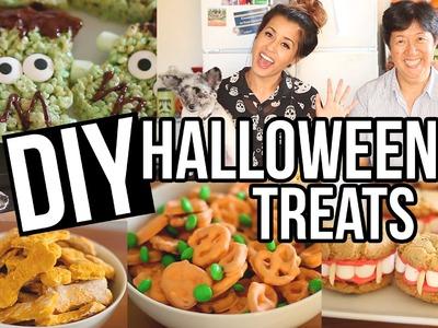 Easy DIY Halloween Treats! Creative + Fun Snacks | Ariel Hamilton