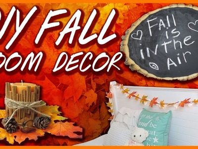 Easy DIY Tumblr Fall Room Decor with Beautybyallii7