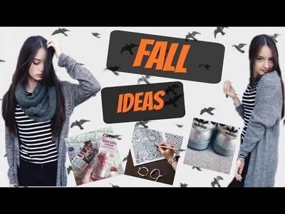 Fall essentials+DIY Room Decor 2015