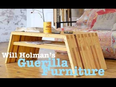 Guerilla Furniture- Salvage.DIY Maker Faire Interview w.Will Holman