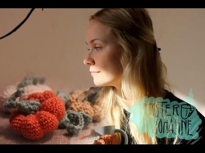 Halloween DIY | crochet a pumpkin plushy