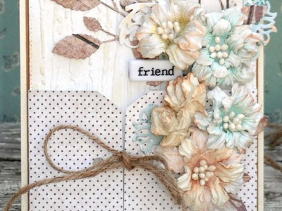 How To 2in1 CARD & GIFT CARD HOLDER In Fall Neutrals - DIY Crafts Tutorial - Guidecentral