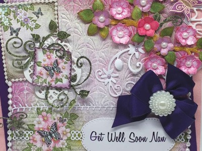 How To Make A Beautiful Get Well Card - DIY Crafts Tutorial - Guidecentral