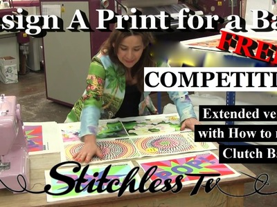 How to make a Clutch Bag- COMPETITION CLOSED