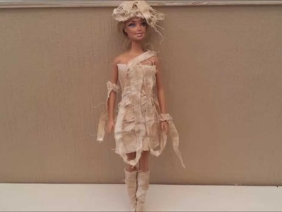 How to Make a Dolls Mummy Costume