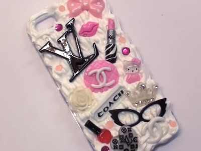 How to make a phone case ♡ Easy DIY phone case tutorial (◠‿◠)