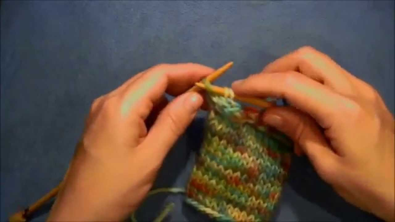 How to Make An I-Cord Bind Off