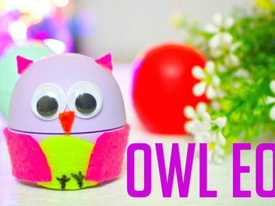 How to Make an Owl EOS | DIY Halloween EOS