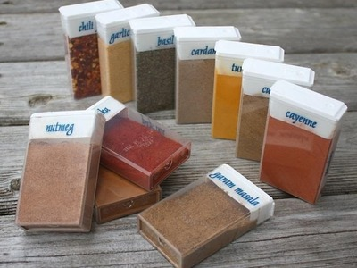 How to Make Travel Sized Spices