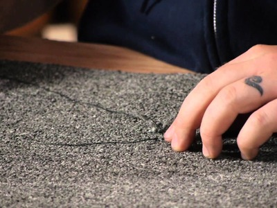 How to Repair a Carpet Damaged by a Cat : Carpet & Rugs