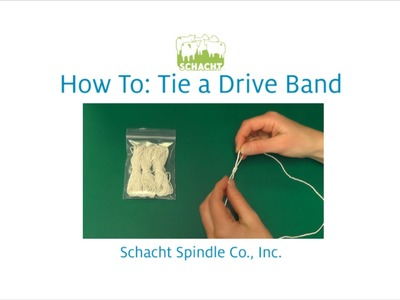 How To Tie a Matchless Drive Band