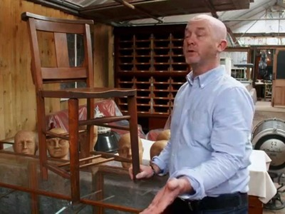 How To Wax a Wooden Chair - Salvage Hunters DIY Tips - EB