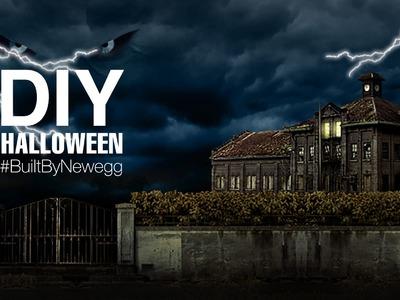 Newegg DIY Halloween Haunted House