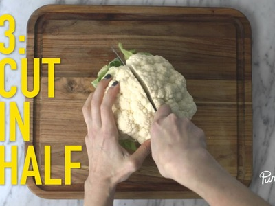 PureWow Presents: How to Cut Cauliflower