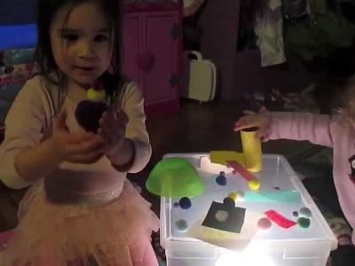 Toddler & Preschooler DIY Light Box Sensory Box!
