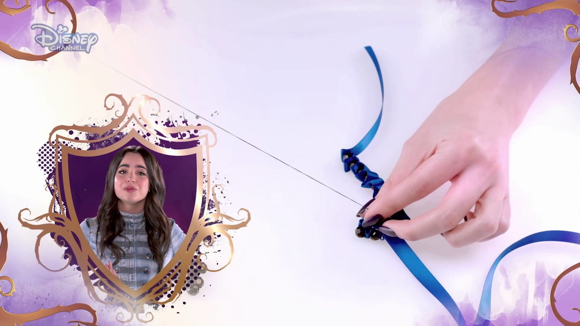 Descendants - DIY Accessorised Tutorials - Pearl | Official Disney Channel Africa