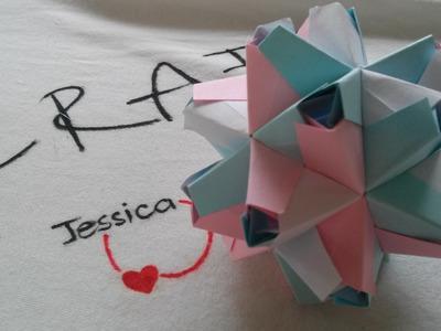 DIY 3D Origami Star