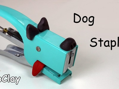 DIY Back to School Craft Project! Dog Stapler