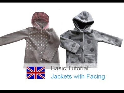 DIY basic sewing tutorial how to sew a jacket with a facing