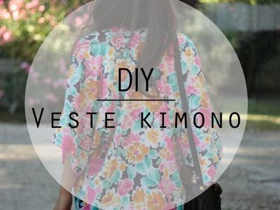 DIY. Easy and quick Kimono Jacket