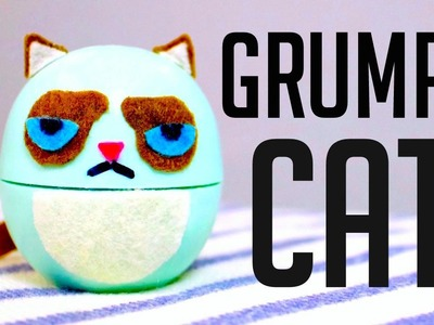 DIY EOS GRUMPY CAT | How To Make a GRUMPY CAT EOS