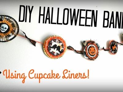 DIY Halloween Banner! Collab with Sabrina Ann!! | Halloween Craft Series 2015 #7