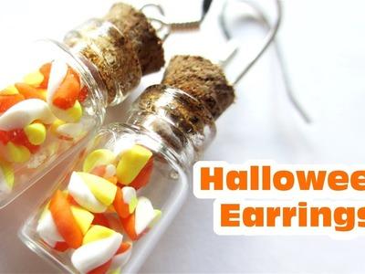 DIY Halloween Earrings X 2. Polymer Clay Tutorial