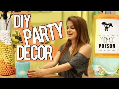 DIY Halloween Party Decor Ideas!