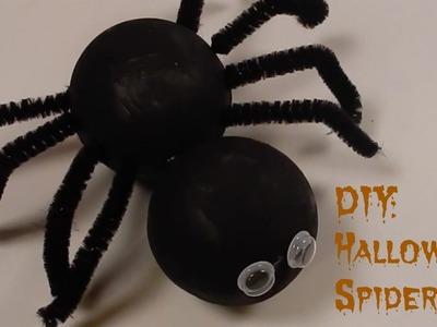 DIY: Halloween Styrofoam Spider