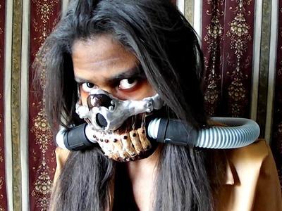 DIY - Máscara do Immortan Joe   Mad Max   Especial Halloween