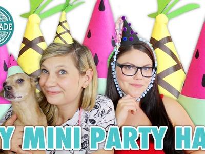 DIY Mini Party Hats with Threadbanger's Corinne Leigh - HGTV Handmade