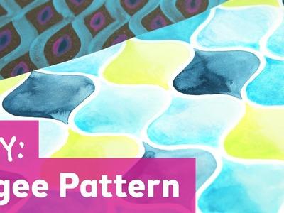 DIY Ogee Pattern