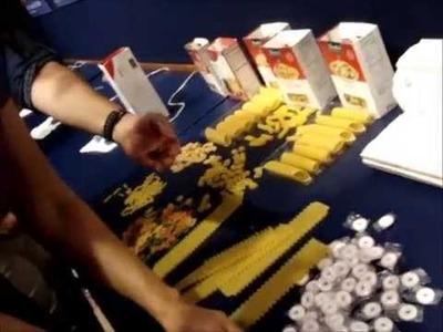 DIY Pasta Car at JPL.NASA Robotics Educator Day