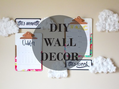 DIY Pinterest Inspired Wall Decor | jayjaypearl