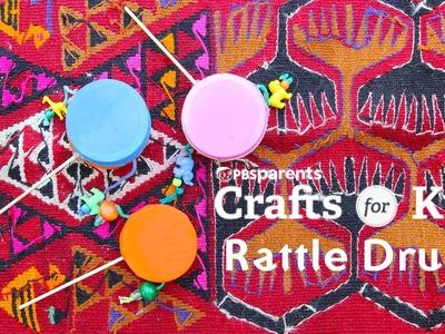 DIY Toy & Instrument: Rattle Drums
